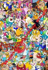 Sticker Bomb Adventure time Euro Drift Vinyl Decal Vw Golf Dub CN sheet