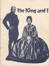 "Betsy Palmer ""The King and I"" Souvenir Program 1963 Paper Mill Playhouse"