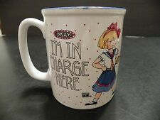 MARY ENGELBREIT I'M IN CHARGE HERE Andrew McMeel Porcelain Mug