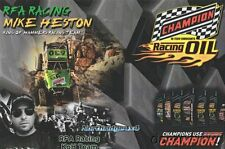 2016 Mike Heston Champion Oil Jeep PRI Show King Of Hammers Off Road postcard