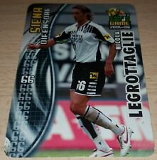 CARD CALCIATORI PANINI 2005-06 SIENA LEGROTTAGLIE CALCIO FOOTBALL SOCCER ALBUM