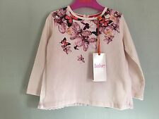New With Tags Baby Girls Designer Ted Baker Jewel Pleat Top 12-18m ��