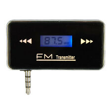 Wireless 3.5mm Audio Stereo Radio Car FM Transmitter for iPhone 5 4S Cell Phone