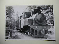 SWE227 - ANNABERG-ORMORYD JARNVAGER - STEAM LOCO No3 *REPRO* PHOTO Sweden