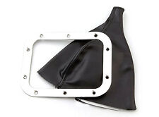 Lokar Rectangular Floor Mount Shifter Boot street rod 70-FMB rectangle ring