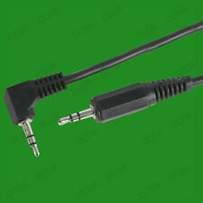 3.5mm 90 Degree Right Angle Stereo Audio Jack To Straight AUX Cable, PC TV HIFI