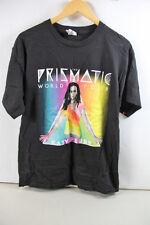 KATY PERRY THE PRISMATIC WORLD TOUR 2014 MEN'S BLACK GRAPHIC T-SHIRT L PS 40-J7