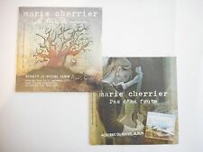 || LOT CD Single Collector - Port 0€ || MARIE CHERRIER : 2 CD