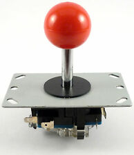 Sanwa Style Ball Top Arcade Joystick, 8 Way (Red) - MAME, JAMMA
