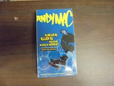 """USED  VHS Movie   """"Andy Mac"""" Tricks Tips """"G"""""""