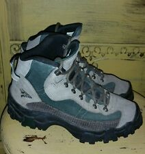 ACG NIKE AIR HEAVY DUTY HIKING TRAIL MOUNTAINEERING BOOTS LADIES 7 M ARMY GREEN