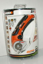 ZIP SNIP WORX 4V MAX LITHIUM POWER MODEL WX081L RECHARGEABLE CUTTER CUTTING TOOL
