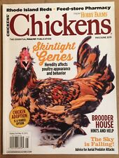 Chickens Skintight Genes Brooder House Hints Help May/June 2015 FREE SHIPPING!