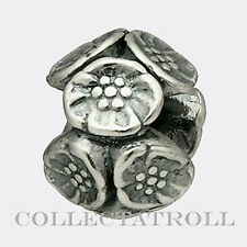 Authentic Trollbeads Silver Cherry Blossoms Trollbead  11449 *LAST ONE*