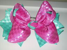 """Hand Made 6"""" Butterfly hair bows Clip Barrette Alligator Clip 07"""