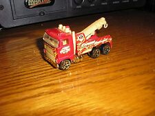 RARE Vintage Hot Wheels HW Final Run 2003 Semi Heavy Duty Tow Truck Loose Red