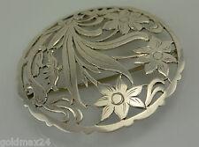 Edelweiß Brosche / 900er Silber