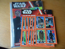 TOPPS STAR WARS ATTAX EXTRA AWAKENS complete 138card Binder set+ Promo set+1 LTD