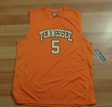 NWT NEW TENNESSEE VOLUNTEERS VOLS #5 PRO EDGE BASKETBALL ADULT XL ORANGE JERSEY