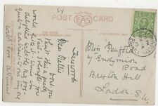 Miss Nellie Penfold Endymion Road Brixton Hill London 1913 124a