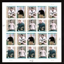 2003 US Stamp Sheet Early U.S. Football Heroes Scott #3808-11 20 Stamps MNH!