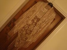 beautiful delicate evening party shawl scarf wrap pale gold fringed