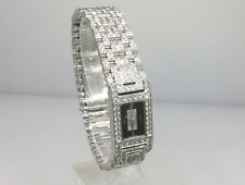AUDEMARS PIGUET 18K WHITE GOLD & DIAMOND LADIES WATCH 67029BC NEW!
