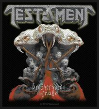 Testament Brotherhood of the Snake Patch/Sew-on Patch 602686 #