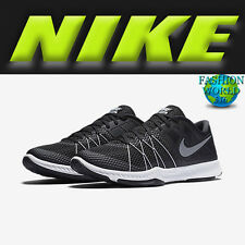 Nike Men's 9 Zoom Train Incredibly Fast Training Shoes Black/White/Grey 844