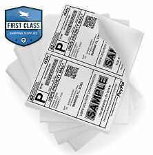 400 Self Adhesive Shipping Labels 2 Per Sheet 8.5 x 5.5 - eBay UPS USPS 5126
