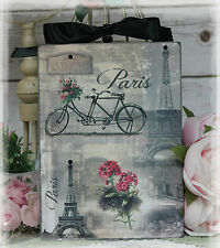 "~ Vintage ""Paris Paris..."" ~ Shabby Chic~Country Cottage style~Wall Decor Sign ~"