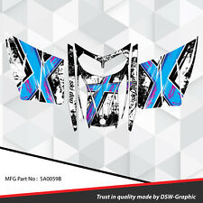 SLED WRAP GRAPHICS KIT DECAL STICKERS SKI-DOO REV MXZ SNOWMOBILE 03-07 SA0059B