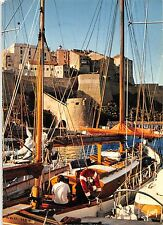 BR49147 Calvi les voiliers amarres    France