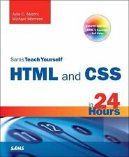 Sams Teach Yourself HTML and CSS in 24 Hours (Includes New HTML 5 Coverage) (8th