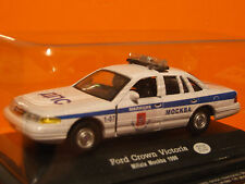 RUSSIAN FORD CROWN VICTORIA  POLICE CAR   1:43 SCALE