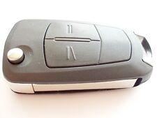 Reemplazo 2 Botón Voltear Llave Carcasa Para Opel Opel Astra H Zafira Corsa remoto