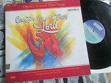 Come Praise And Bless The Lord Volume 2 New Life Records WST 9595 Vinyl LP Album