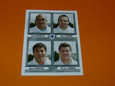 N°500 RACING-METRO 92 PANINI RUGBY 2007-2008 PRO D2 FRANCE