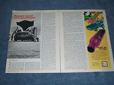 """1970 Tech Info Article on the Chevy LT-1 """"Monkeyin' Around with Some LT-1 Parts"""""""