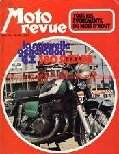 MOTO REVUE 2087 SUZUKI 380 GT  Grand Prix Moto Guzzi 750 Sport Bol d'Or 1972 (1)