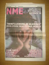 NME 1986 FEB 8 JOHN LYDON JAM GO-BETWEENERS RED WEDGE