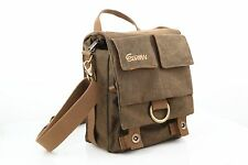 Waterproof Canvas Vintage fashionable DSLR Camera Bag Shoulder Messenger Bag