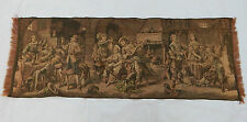 Vintage French Beautiful Party Scene Tapestry 47x125cm T431