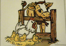 FARM ANIMALS RETIRED  Art impressions rubber stamps