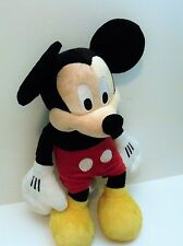 Genuine Original Mickey Mouse Disney Large Plush Stuffed Toy Animal 19 inches