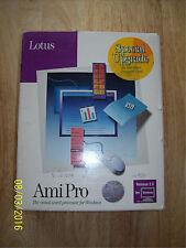 Lotus Ami Pro 3.01 Windows, Adobe Type Manager, Macro Dev Kit, Bonus Pack