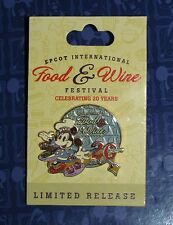 PIN Disney 2015 Epcot 20th Food and Wine Festival Chef Mickey LR last one