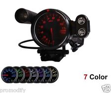"Definisce lo stile Tacho 5 "" 80 mm 7 colore REV RACING MANOMETRO CONTAGIRI HKS PIVOT D1Spec"
