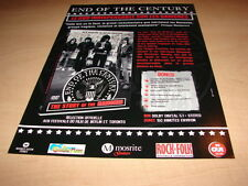 THE RAMONES - END OF THE CENTURY!!!!!PUBLICITE / ADVERT