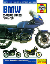 BMW R45 - R100 2-valve Twins 1970-1996 Haynes Manual 0249 NEW